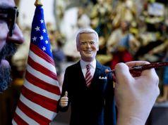 Italy: Joe Biden pops up in Naples Christmas crib