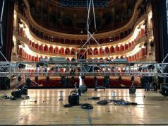 Rome opera house turns film set to open its new season