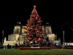Spelacchio: Rome lights up Christmas tree in Piazza Venezia