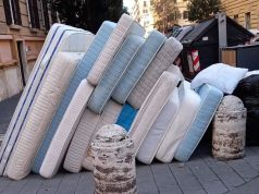 Rome mayor's fury over 15 mattresses dumped on street near Vatican