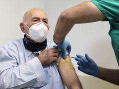 Italy: Auschwitz survivor gets covid-19 vaccine in Rome