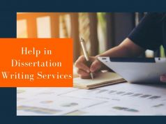 Help in Dissertation Writing Services