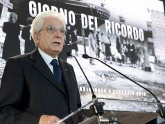 Italy's president recalls 'horror' of the Foibe