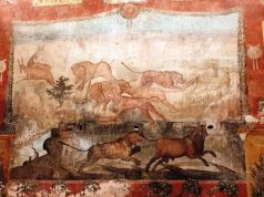 Pompeii fresco in House of Ceii glows with vivid colours after restoration