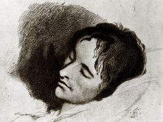The death of John Keats