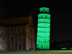Italian landmarks go green for St Patrick's Day