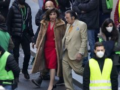 Lady Gaga and Al Pacino film Gucci movie in Rome