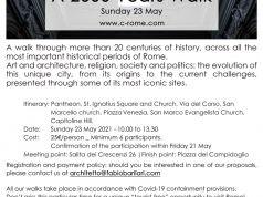 C-ROME | Next tour: A 2000 Years Walk - Sunday 23 May
