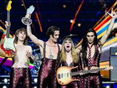 Rome band Måneskin wins Eurovision Song Contest for Italy