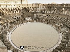 Italy unveils winning floor design for Colosseum arena