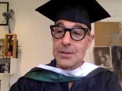 The American University of Rome awards Honorary Doctorate to Stanley Tucci