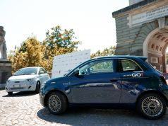 Rome welcomes electric Fiat 500 car sharing LeasysGO!