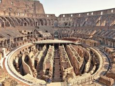 Colosseum underground labyrinth opens fully to visitors