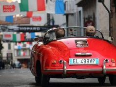 Mille Miglia vintage car rally returns to Rome