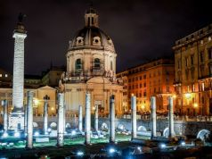 Rome night walks through Imperial Fora
