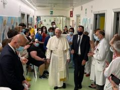 Pope returns to Vatican 10 days after surgery in Rome hospital