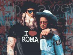 Rome Fiumicino airport welcomes back tourists with Leonardo da Vinci mural