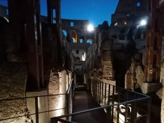 How to visit Rome's Colosseum underground by night