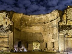 Rome's Baths of Caracalla open at night
