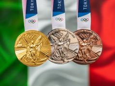 Italy ends Olympics with record 40 medals
