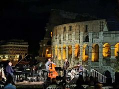 Rome open-air jazz concerts with Colosseum view