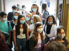 Italy's schools reopen with new covid Green Pass rules