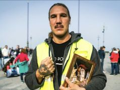 Italy Green Pass protester Tuiach: 'I got covid from police water cannons'