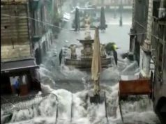 Catania floods: Two dead as streets turn into rivers in Sicilian city