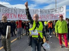Trieste dockers lead revolt against Italy's Green Pass