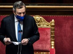 Italy covid vaccination drive ahead of EU average says Draghi
