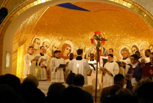Christmas carols at Rome's Irish College