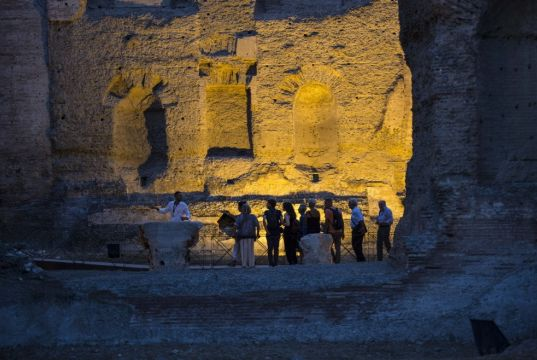 Night visits to Rome's Baths of Caracalla