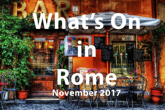 November 2017 events in Rome
