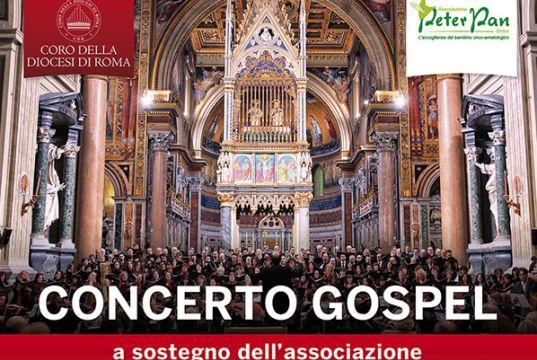 Gospel concert for Rome's Peter Pan Onlus