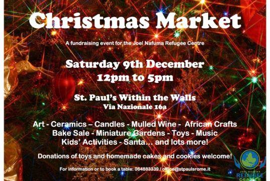 JNRC Christmas market