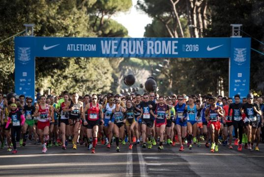 We Run Rome marathon on New Year's Eve