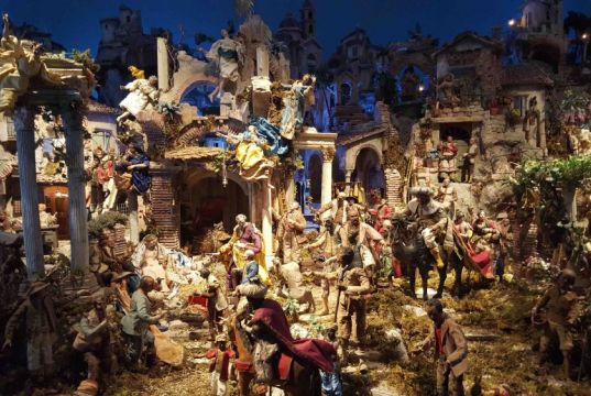 Christmas cribs in Rome