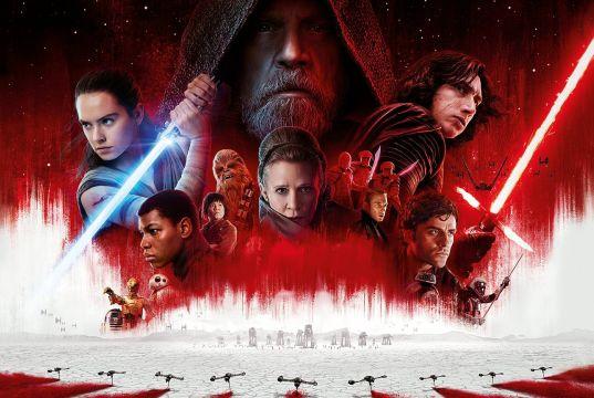 Star Wars: The Last Jedi showing in Rome cinemas