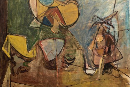 Painting in the contact zone: American artists in postwar Rome