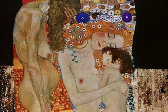 Klimt in Rome: The Three Ages of Woman