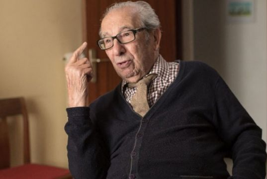Harry Shindler at American University of Rome