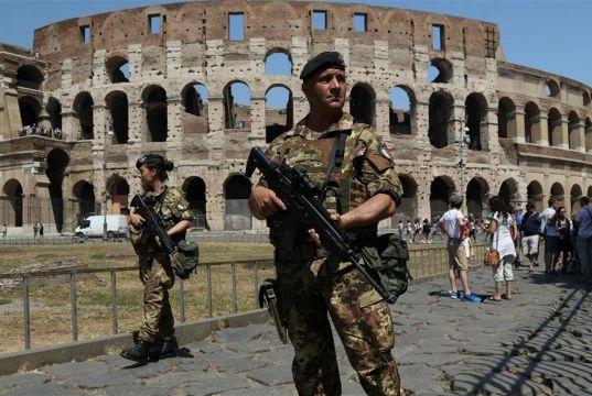 Rome on terror alert