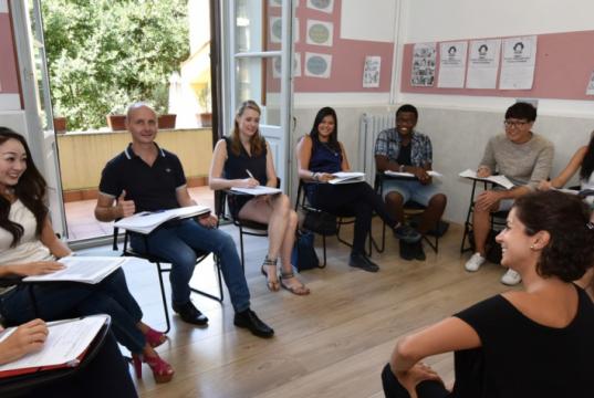 Italian language courses in Rome