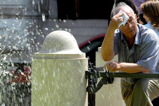 Heatwave alert in Rome