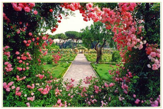 Rome's rose garden open in October