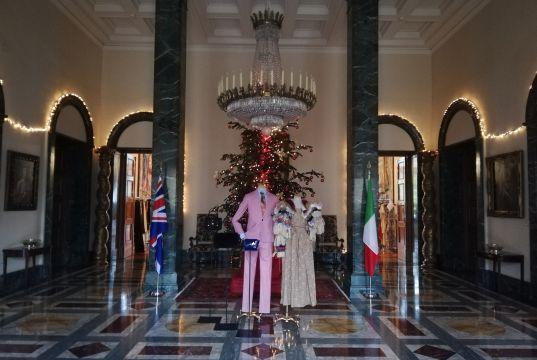 Vivienne Westwood at British Embassy in Rome