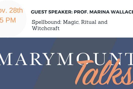 Marymount Talks
