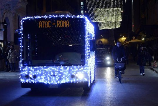Rome public transport timetable over New Year