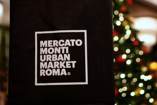 Christmas market at Mercato Monti in Rome