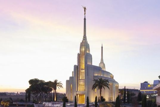 Europe's largest Mormon temple opens in Rome